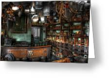 Ironmonger's Shop Greeting Card