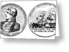 Isaac Hull: Medal Greeting Card