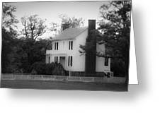 Isbell House Appomattox Virginia Greeting Card by Teresa Mucha