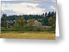 Island Bridge Greeting Card