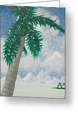 Island View Greeting Card