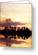 Islands In The Sky Greeting Card