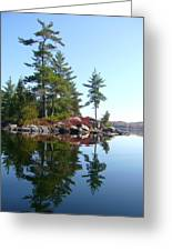 Isle - Natural Reflection Greeting Card