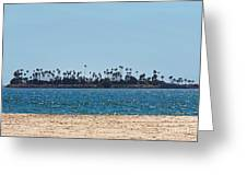 Isle Out There Greeting Card