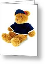 Isolated Teddy Bear Greeting Card