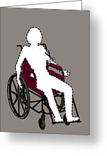 Isolation Through Disability, Artwork Greeting Card by Stephen Wood