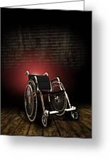 Isolation Through Disability, Artwork Greeting Card
