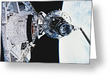 Iss Module Unity Greeting Card