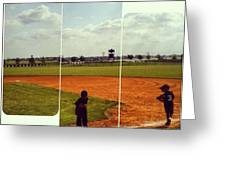 It Was A Great Day For Tball... #sports Greeting Card by Kel Hill