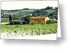 Italian Countryside 2 Greeting Card
