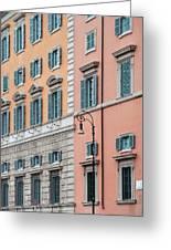 Italian Facade Greeting Card