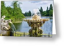 Italian Fountain London Greeting Card