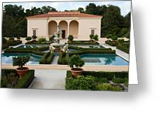 Italian Renaissance Garden Greeting Card