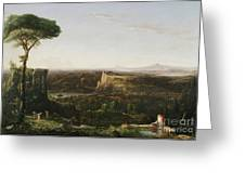 Italian Scene Composition Greeting Card