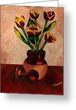 Italian Tulips Greeting Card