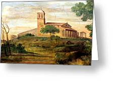 Italian Valley  Greeting Card