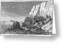 Italy: Earthquake, 1856 Greeting Card