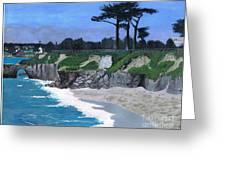 Its Beach Santa Cruz Ca Greeting Card