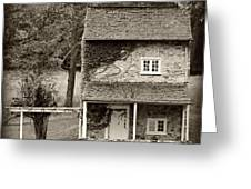 Ivy Covered Farmhouse Greeting Card