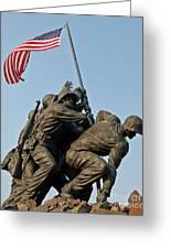 Iwo Jima Memoria 2 Greeting Card