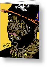 J Dilla Full Color Greeting Card