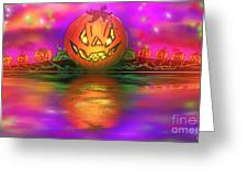 Jack And Friends By The Waters Edge Greeting Card