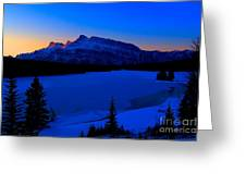 Jack Frost Blues Greeting Card