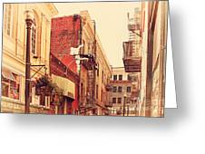 Jack Kerouac Street San Francisco . 7d7437 Greeting Card