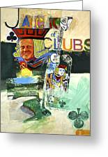 Jack Of Clubs 50-52 Greeting Card
