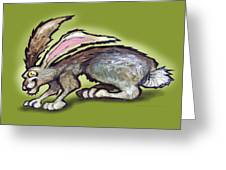 Jack Rabbit Greeting Card