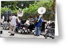 Jackson Square Sound Greeting Card