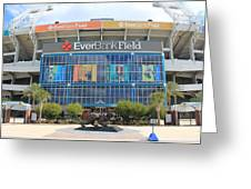 Jacksonville Jaguars Stadium Greeting Card