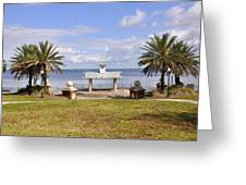 Jacksonville Park View Greeting Card