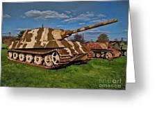 Jagdtiger Sd. Kfz Greeting Card
