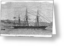 Jamaica: Css Alabama, 1863 Greeting Card