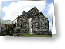 Jamaican Church Greeting Card