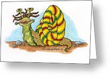 Jamaican Snail Greeting Card