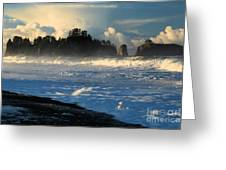 James Island Storm Greeting Card