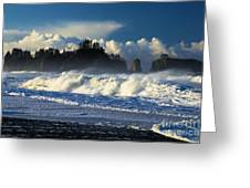 James Island Surf Greeting Card