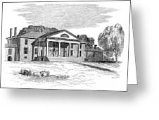 James Madison Montpelier Greeting Card