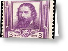 James Russell Lowell Greeting Card