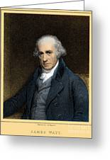 James Watt, Scottish Inventor Greeting Card