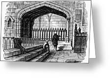 James Watt: Tomb, 1819 Greeting Card