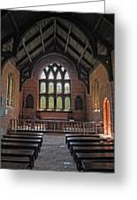 Jamestown Church Interior Greeting Card