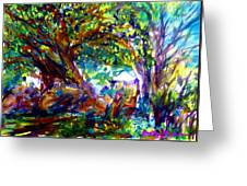 Jamjuree Trees Greeting Card