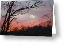 January Sunrise 1 Greeting Card