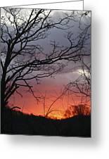 January Sunrise 4 Greeting Card