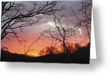 January Sunrise 5 Greeting Card