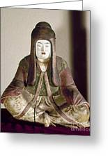 Japan: Statue, 9th Century Greeting Card