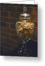 Jar Of Biscotti Greeting Card by Sandi OReilly